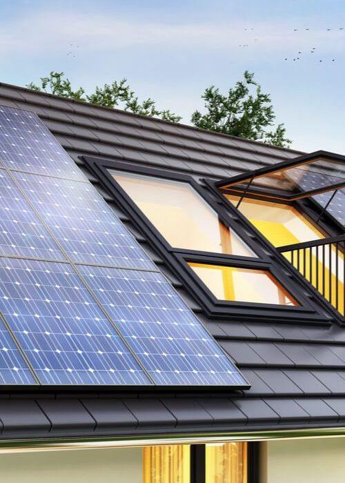 chauffage par panneaux solaires